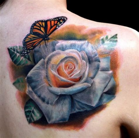 white roses tattoos 10 realistic white tattoos tattoodo