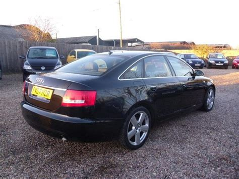 audi a6 2007 for sale used 2007 audi a6 saloon 2 0 tdi s line diesel for sale in
