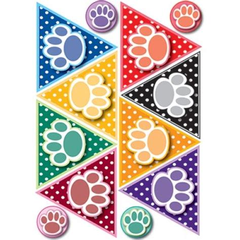 1000 Images About Dog Theme Paw Print Classroom On Pinterest Paw Print Classroom Decorations