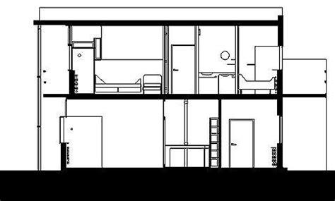 schroder house section galeria de cl 225 ssicos da arquitetura resid 234 ncia rietveld
