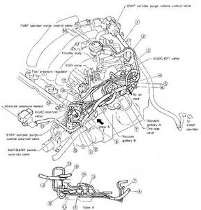 1999 Nissan Maxima Vacuum Hose Diagram Help Confusion With 0807 And 0402 Maxima Forums