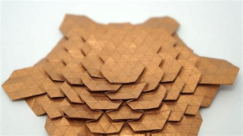 Tesselation Origami - origami spread hex tessellation eric gjerde normal
