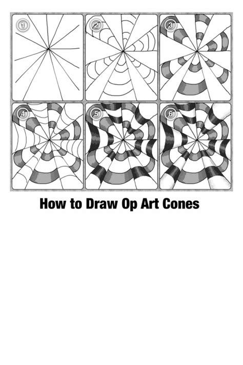 printable optical illusions worksheet 8 best images of op art worksheets printable how to step