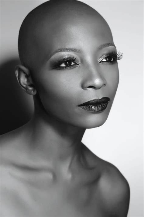 beautiful black women bald haircuts 17 best images about beautiful bald on pinterest black
