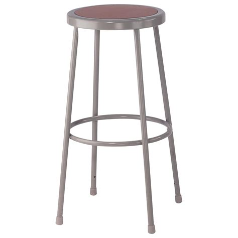 Shop Stool by National Seating Shop Stool 30in H 300 Lb