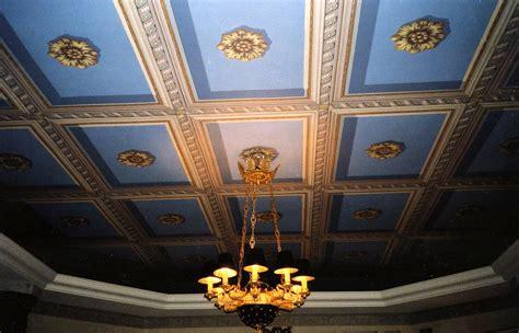 Papier Peint Plafond Trompe L Oeil by Trompe L Oeil Sur Mesure D 233 Cors Peints Atelier Follaco