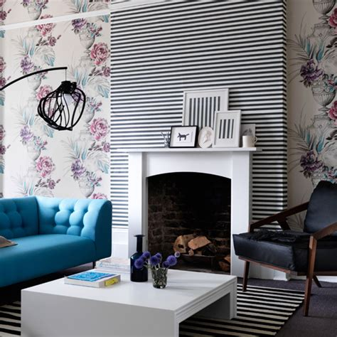 Wallpaper Livingroom living room wallpaper ideal home