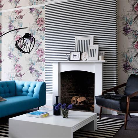 wallpaper livingroom living room wallpaper ideal home