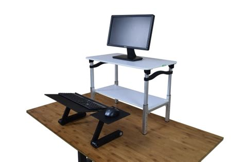 17 lift standing desk conversion kit is a 22 stand