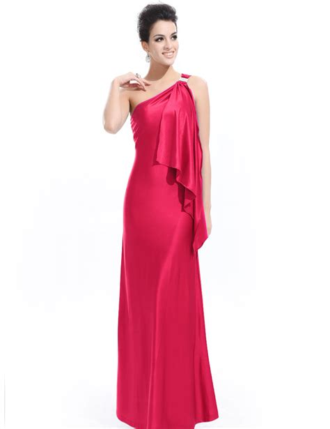 Gorgeous One Shoulder Dresses by Gorgeous Pink One Shoulder Diamantes Evening