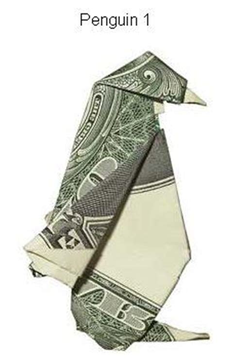 Dollar Bill Origami Penguin - 1000 images about origami money on fighter