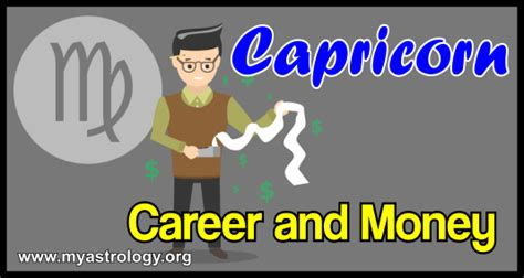 capricorn career and money tendencies my astrology
