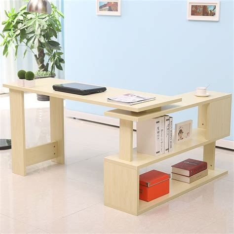 cheap corner computer desk get cheap rotating bookcase aliexpress alibaba