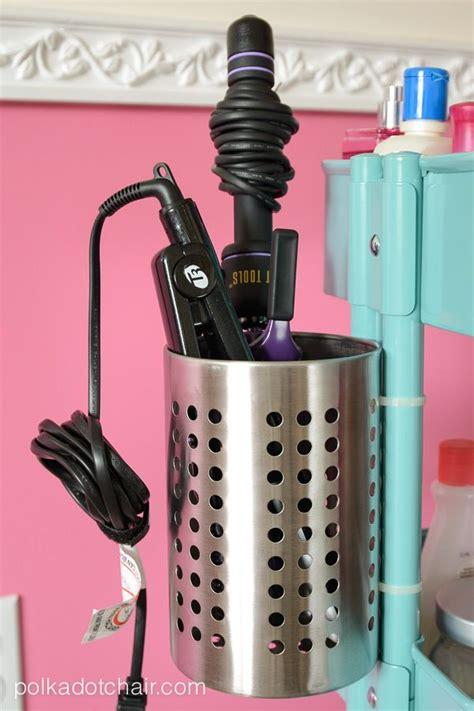 ikea iron holder ikea raskog hack a rolling vanity cart vanities dryers