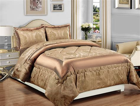 luxury bedspread 3pcs jacquard bedspread quilted bed
