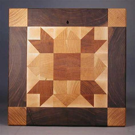 Quilting Cutting Board by Large Quilt Pattern Endgrain Cutting Boards