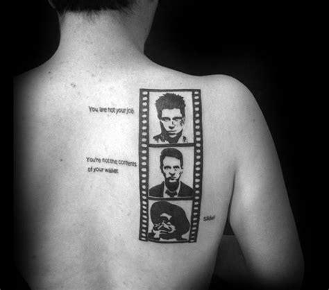 fight club tattoos 70 fight club tattoos for masculine design ideas