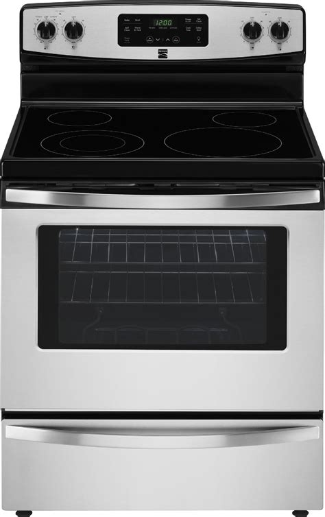 Kenmore Stove by Kenmore 94173 5 3 Cu Ft Self Cleaning Electric Range