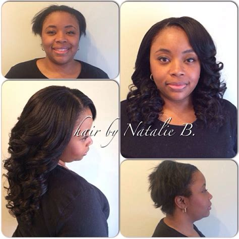 before and after sew in weave before after beautiful natural looking results