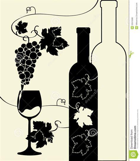 wine silhouette wine grapes silhouette www imgkid com the image kid