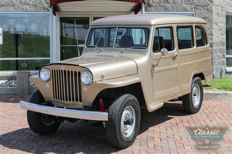 1950 Jeep Wagon 1950 Willys Wagoneer Classic Enterprises
