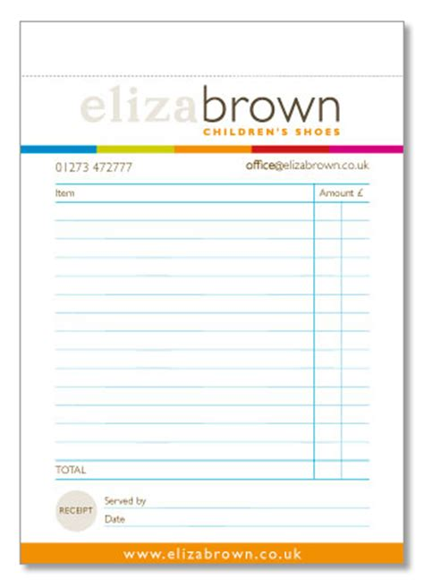receipt pad template receipt pad template 28 images receipt pads 163 35