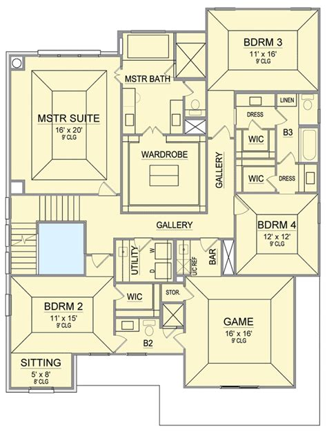 game room floor plans ideas hill country with 2nd floor game room 36469tx