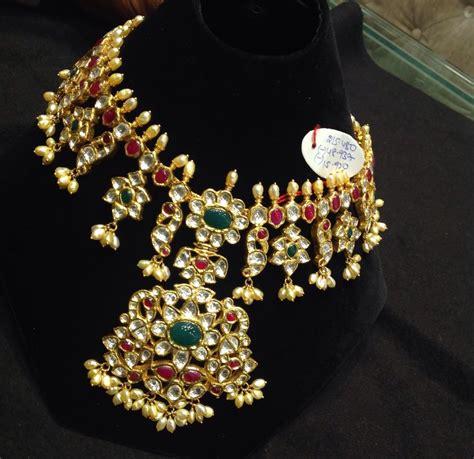 Polki Dress kundan and polki jewellery collection