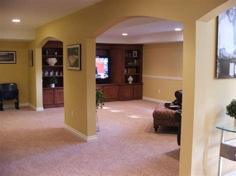 finished basement utica