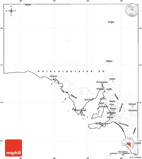 simple map of australia blank simple map of south australia cropped outside