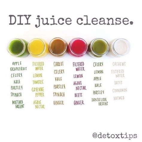 Juice Cleanse Recipes 3 Day Detox by Diy Juice Cleanse Health