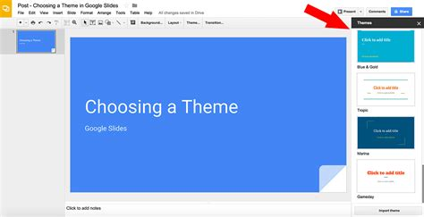 get themes for google slides how to choose a theme in google slides free google