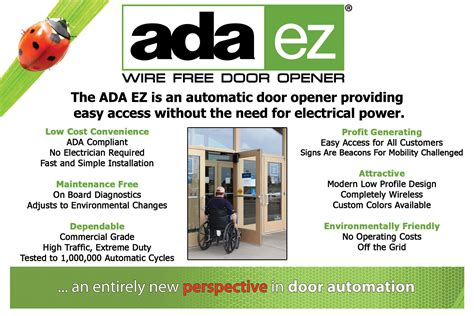 Automatic Door Systems Nj - ada ez automatic door openers island ny at barrier
