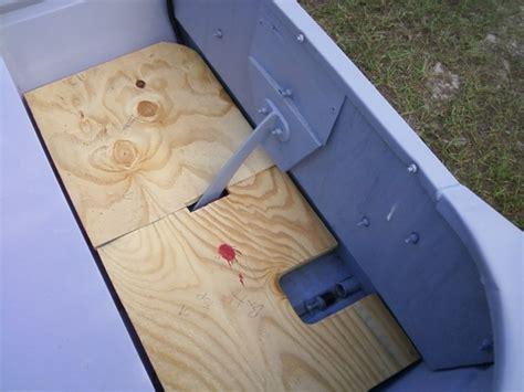 jon boat plug size decking floors tops