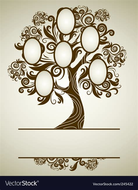 Family Tree Royalty Free Vector Image Vectorstock Royalty Free Family Tree Clip Vector Images Illustrations Istock