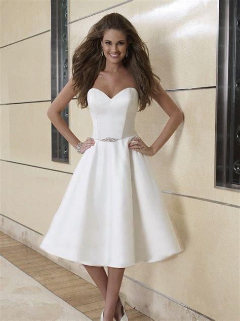 vestido corto de novia vestidos de novia de 60 ideas para todos los gustos