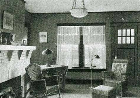 interior of 1920s home historical homes