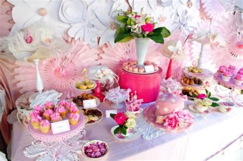 ideas for afternoon tea bridal shower pink and white high tea bridal shower bridal shower ideas themes