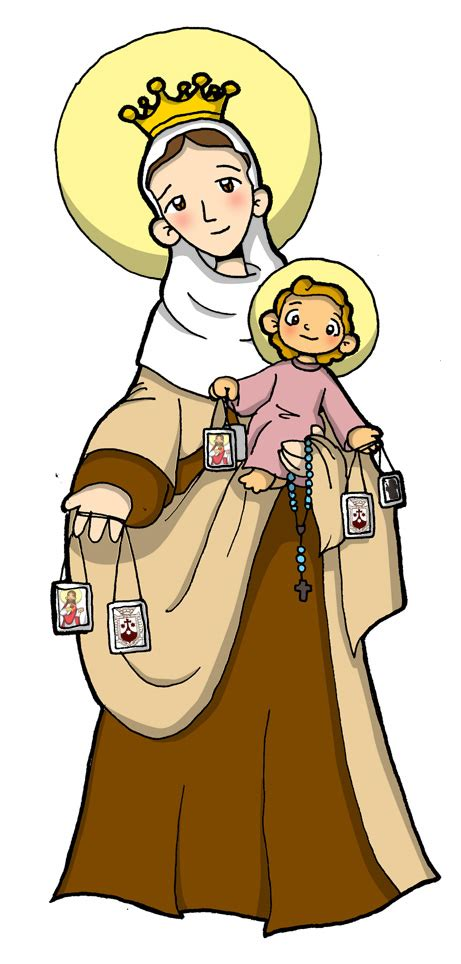 imagenes rockeras en caricatura virgen del carmen caricatura imagui