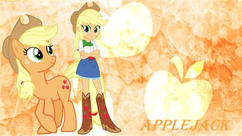 applejack wallpaper applejack pony eg wallpaper by pegasister1000 on deviantart