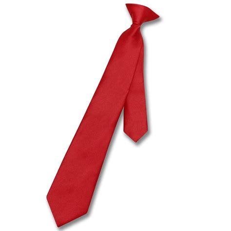 neck tie vesuvio napoli boy s clip on necktie solid color youth neck tie ebay