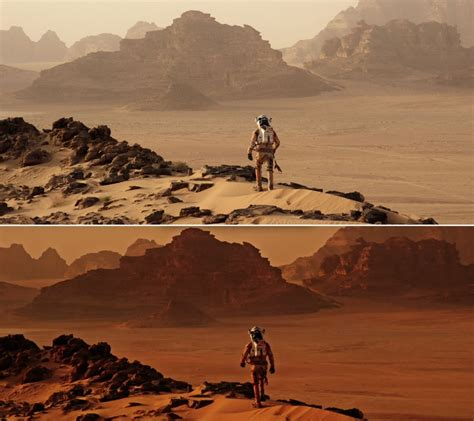 where was the martian filmed filming locations