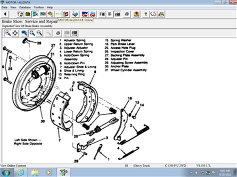 2002 chevy tracker rear brake diagram i need a diagram on rear drum brake assembly there solved