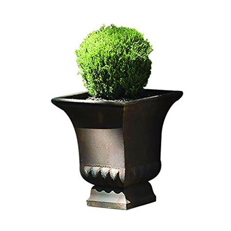 large metal planters gardman 8225 large rustic metal urn planter 15 75 quot x 15 75 quot wide x 18 quot new ebay