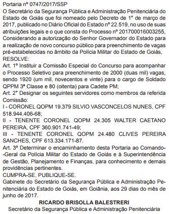 concurso pm al comisso formada e edital em concurso pm go 2 000 vagas autorizadas advocacia dos