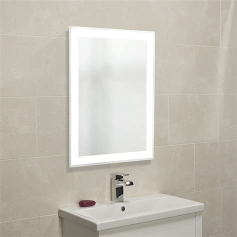 back lit bathroom mirrors roper rhodes status backlit bathroom mirror mlb280 mlb280