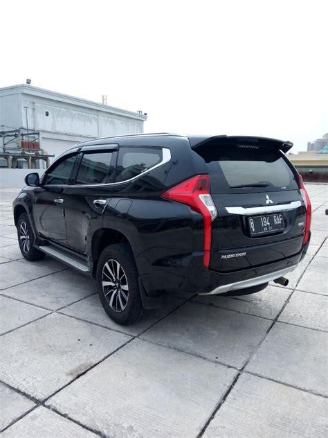 mitsubishi mobil mitsubitshi pajero sport dakar matic hitam 2016 km 7 rban