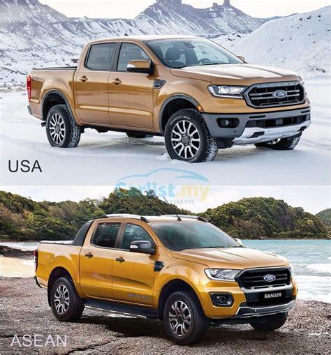 2019 Usa Ford Ranger by Ford Ranger 2019 Asean Versus Usa Designs Auto News