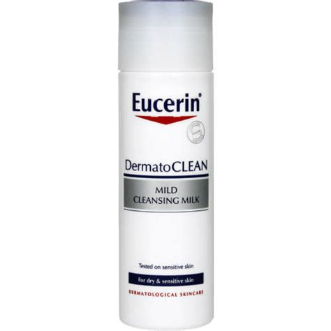 Mild Detox For The by Eucerin Dermatoclean Mild Cleansing Milk Sensitive