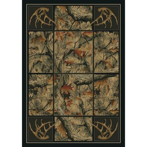 camo area rugs antlers camo area rugs